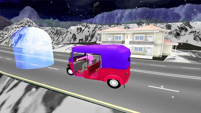 Xtreme Drive Tuk Tuk Rickshaw screenshot 1