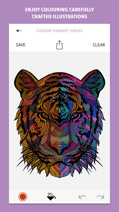 Colour Therapy: An Adult Colouring Book on the App Store