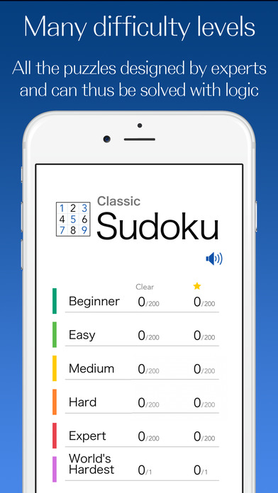 Classic Sudoku - Puzzle Game screenshot