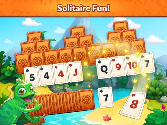 Solitaire Dash TriPeaks Islands screenshot 6
