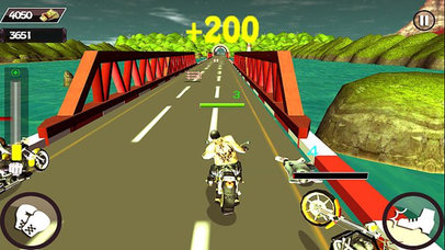 Motorcycle Race Stunt Attack 3d screenshot 2