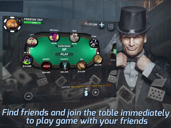 Tap Poker Socialscreeshot 4