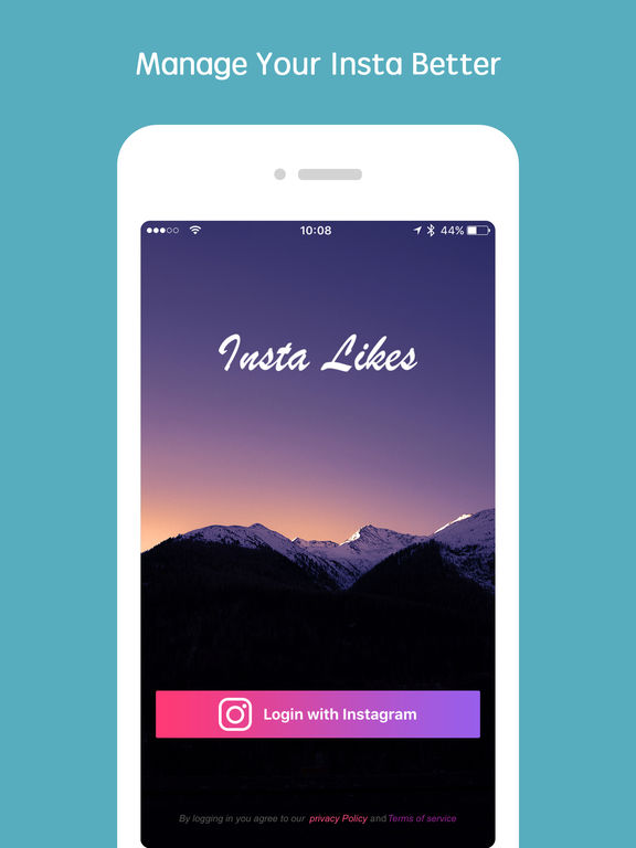 Screenshots of Insta Likes - track instagram likes easily for iPad
