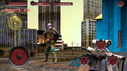 Monster Superhero Sniper Shooter screenshot 1