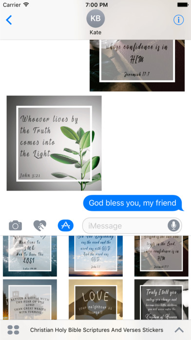Christian Holy Bible Scriptures & Verses Stickers screenshot 4
