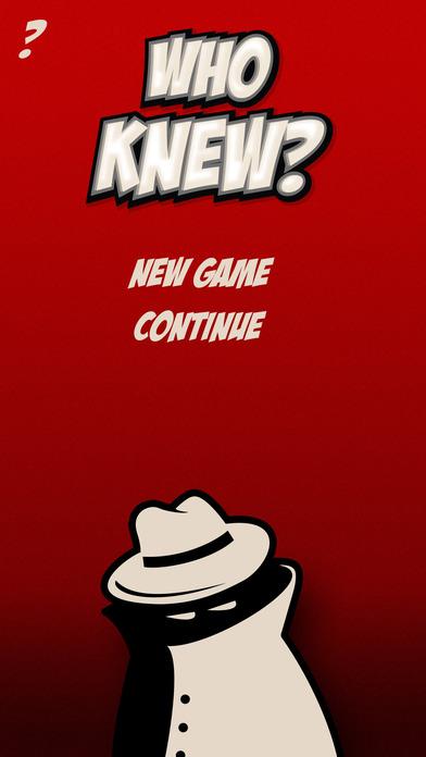 Who Knew Game screenshot 3