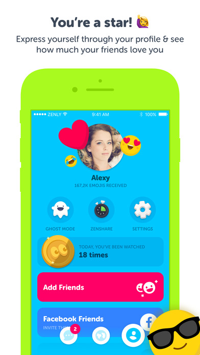 Zenly - Locate your friends in realtime on the App Store