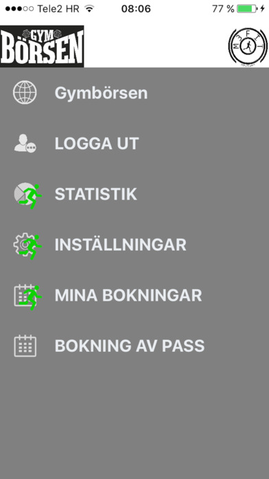 Gymbörsen screenshot 1