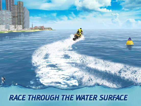 Surfing Bike Water Wave Racing screenshot 6