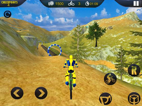 Spider Superhero Bicycle Riding: Offroad Racing screenshot 7