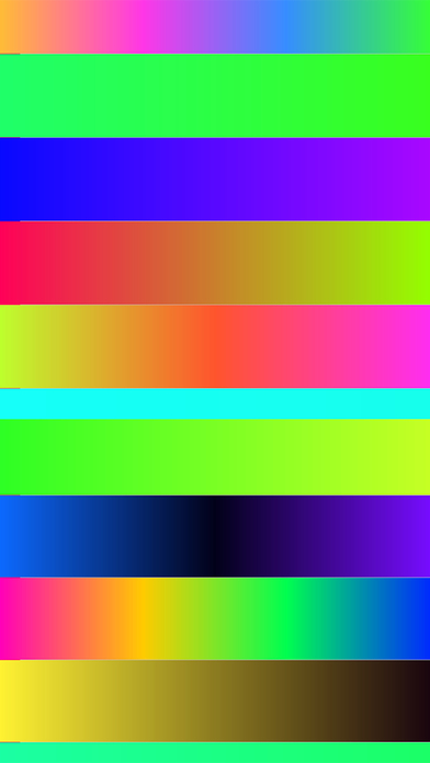 Docky - Color Gradient Bars for wallpapers Screenshots