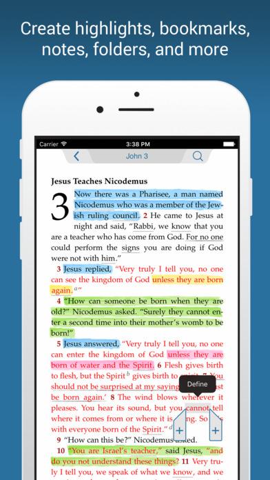 NIV Bible Screenshot