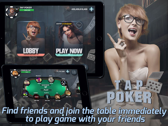 Tap Poker Socialscreeshot 1
