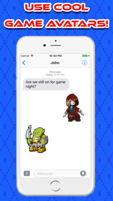 GamerMoji For iMessage Screenshot 3