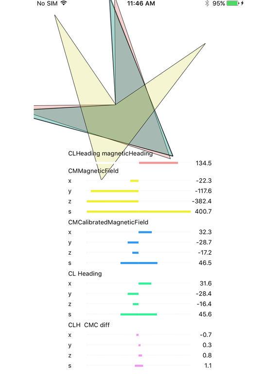 Magnetometer & Compass Скриншоты9