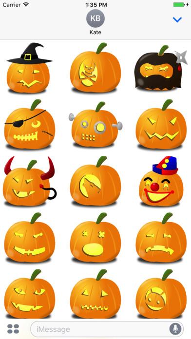Spooky Halloween Pumpkins screenshot 2