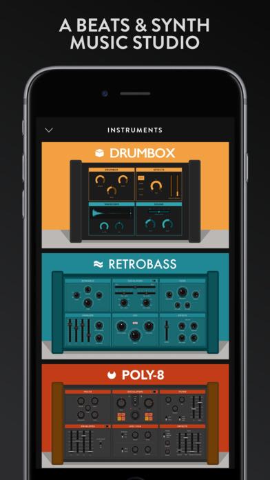Groovebox - Beats & Synths Music Studio Screenshot 1
