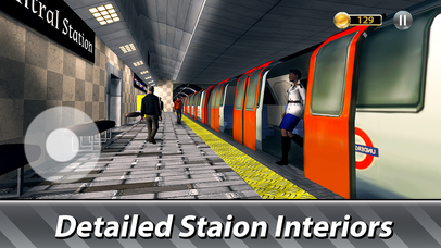 London Underground Simulator Full screenshot 3