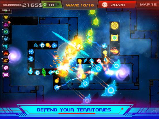 Galaxy Glow Defense screenshot 8