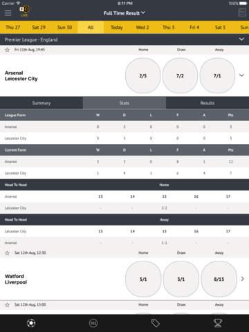 Football Coupon betting - best odds screenshot 3