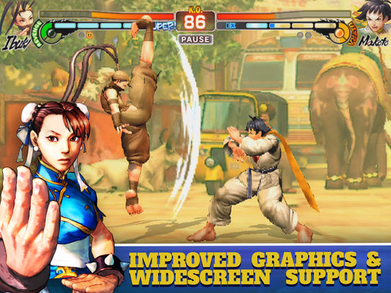 Street Fighter IV Champion Edition Screenshots