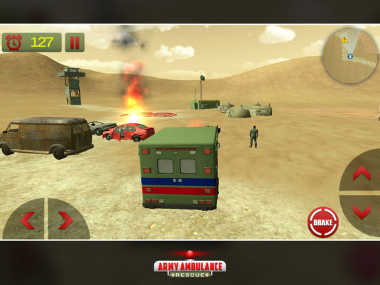 US Army Ambulance Rescue Game screenshot 5