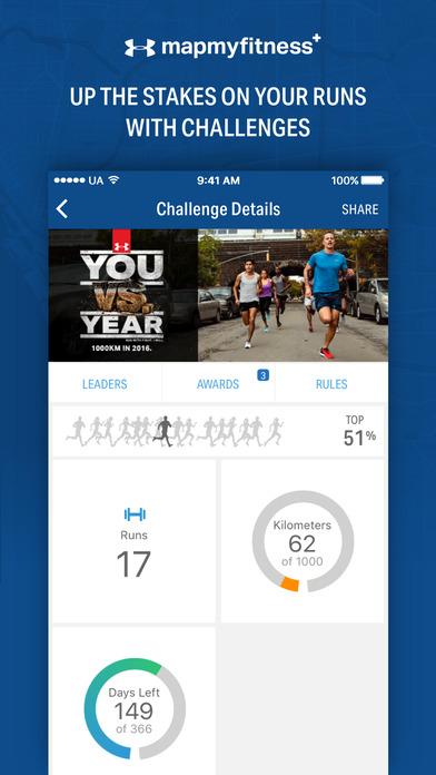 Map My Fitness+ - GPS Workout Trainer & Tracker Screenshots