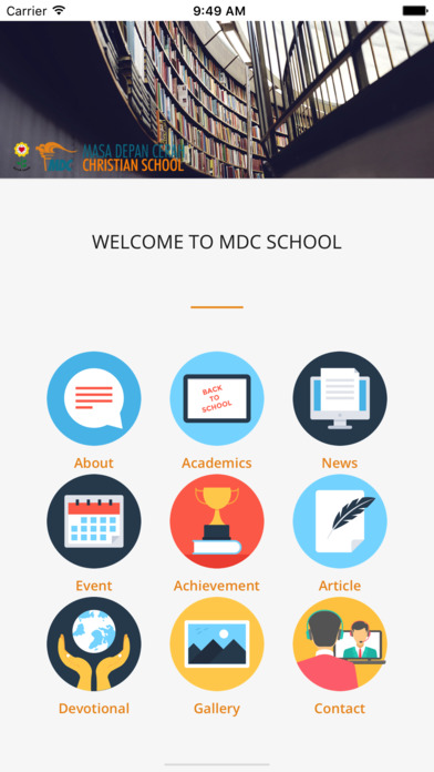 MDC School screenshot 1