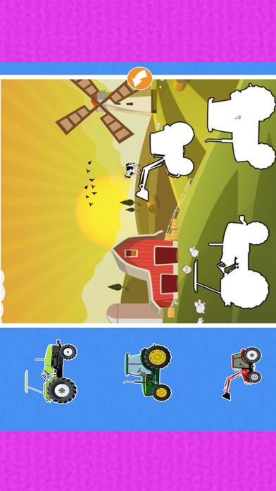 автомобиль Дети Изучение : машинки грузовики пазлы Скриншоты5