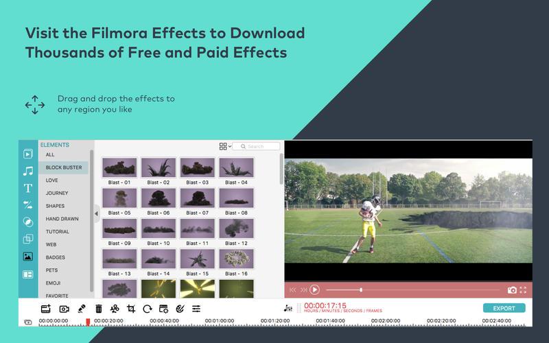 Filmora Video Editor Screenshots