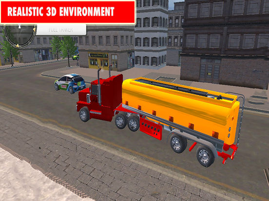Drive Oil Transport Truck 2017 Pro screenshot 6