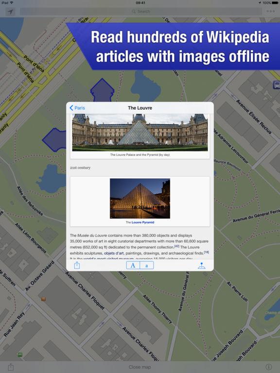 OffMaps 2 · Offline Maps for Travelers Screenshots