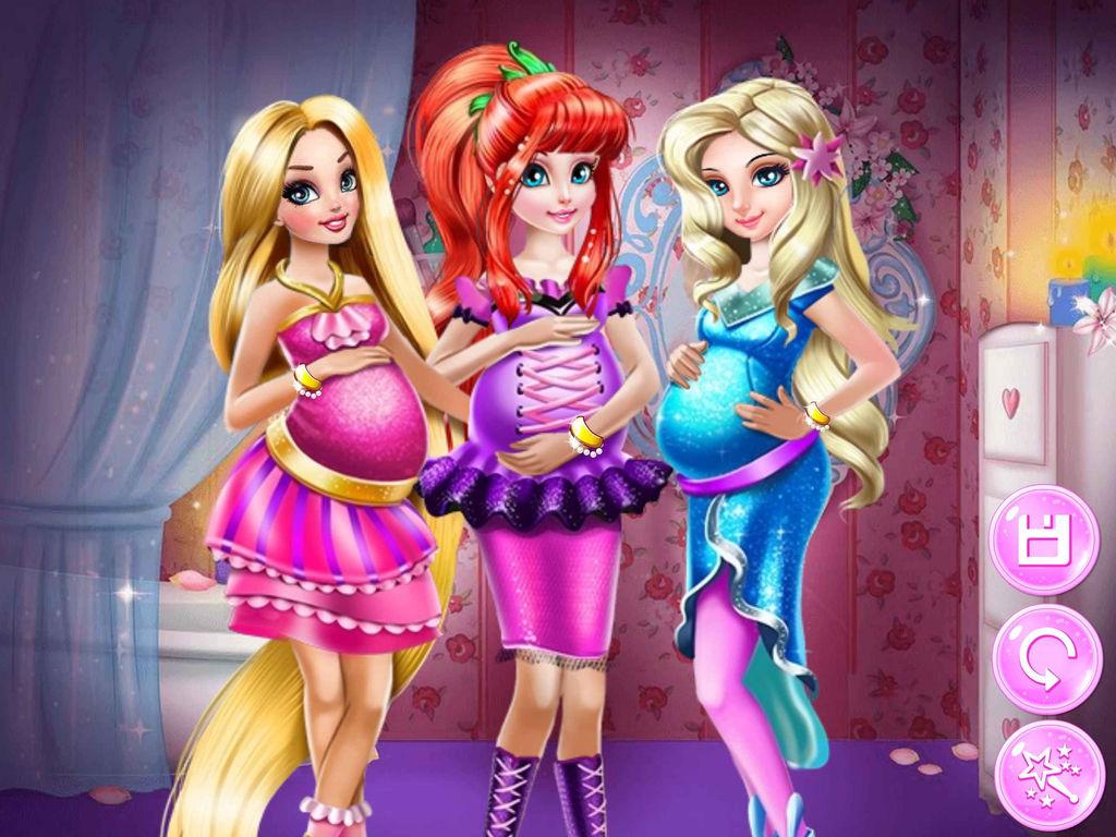 公主怀孕了-换装儿童女生游戏大全免费