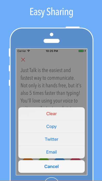 Just Talk ~ Speech-To-Text Screenshots