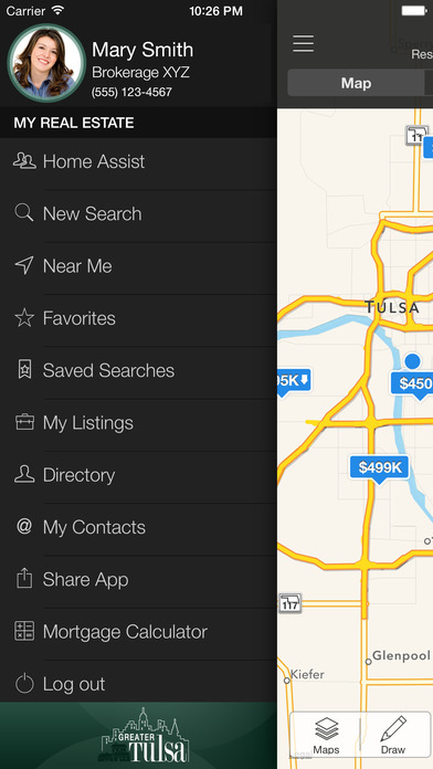 Tulsa MLS iPhone Screenshot 1