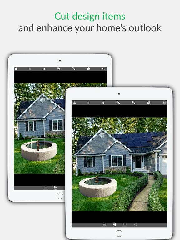 App shopper landscape design home decor flower garden for Home landscape design app