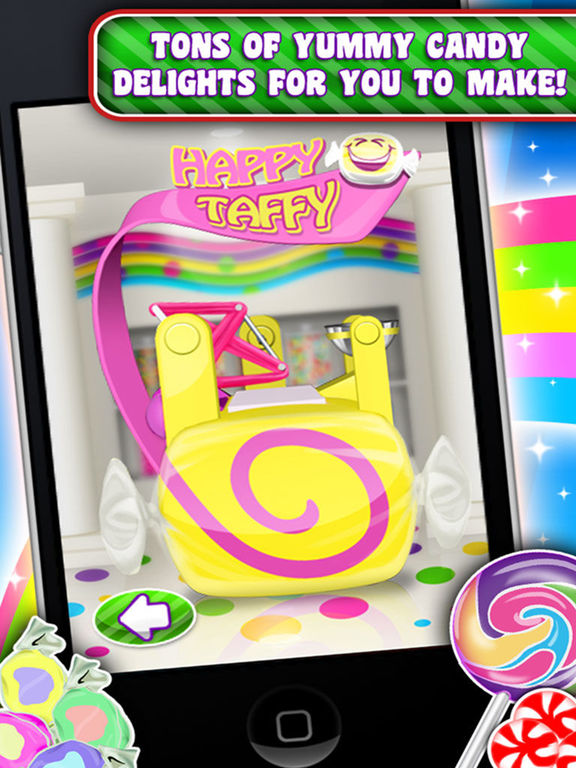Screenshots for Candy Maker Games - Crazy Chocolate, Gum & Sweets