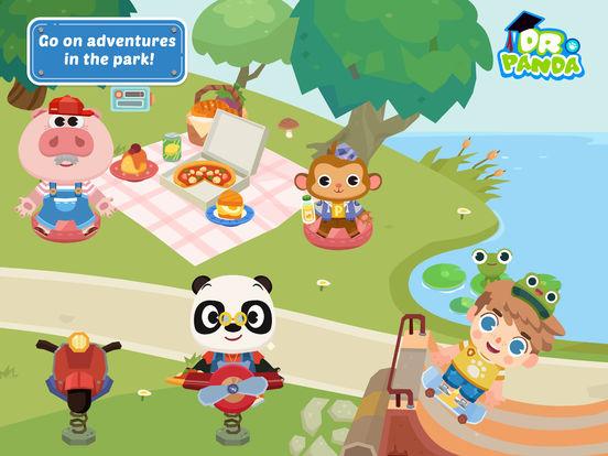 Dr. Panda Town iPad
