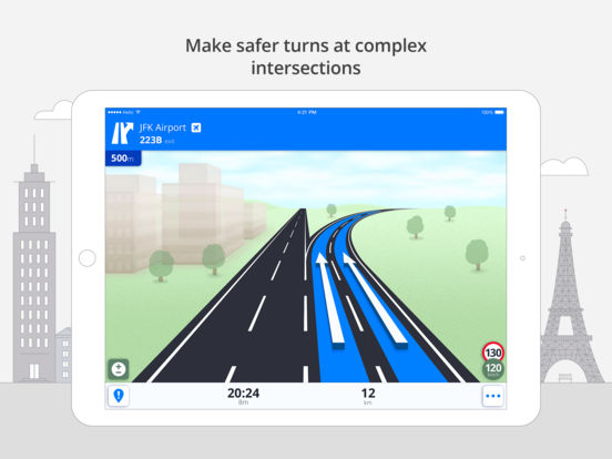 Sygic: GPS Navigation, Maps, Traffic, Gas prices Screenshots