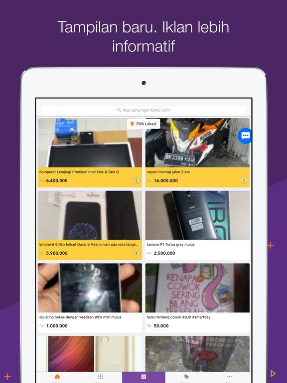 Tangkapan Layar iPad 1
