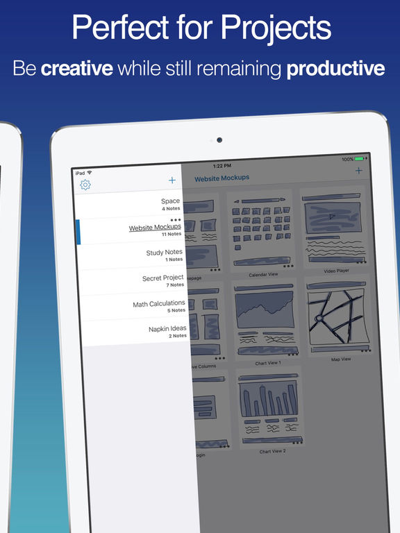 Draw Pad Pro 2 - Amazing Notepads and Sketchbooks Screenshots
