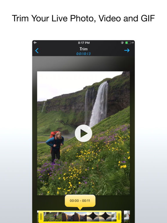 Live Crop for Live Photo, Video and GIF Screenshots