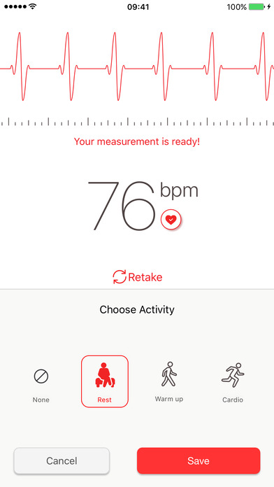 Cardiograph Screenshots