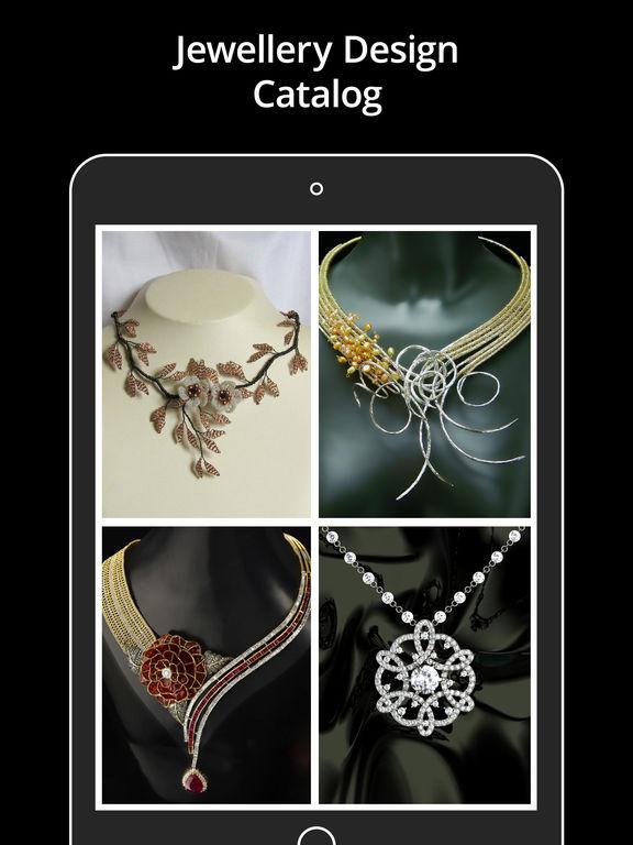 app shopper jewellery design catalog ornament style