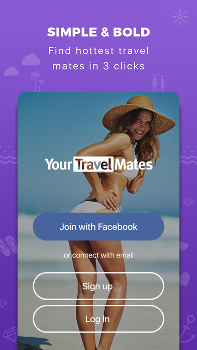 YourTravelMates - dating for travel mates & locals app image