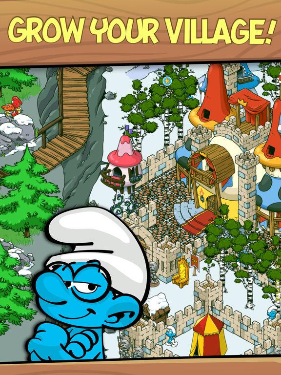 Smurfs' Village Скриншоты8