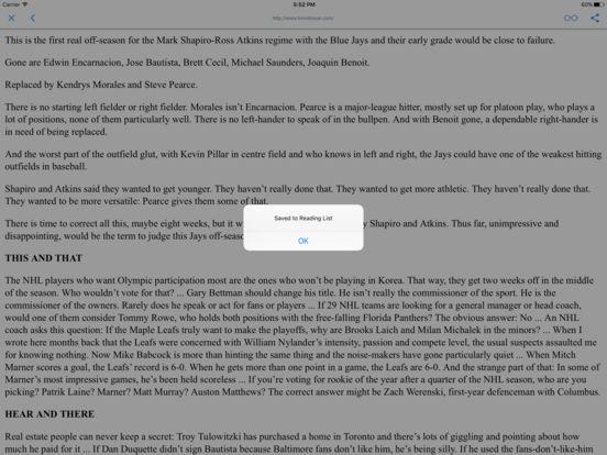 CANADIAN NEWSPAPERS and MAGAZINES iPad Screenshot 2