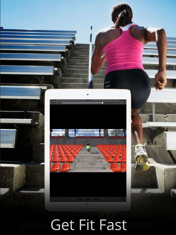 Fat Burning with Stairs Exercise Workout Routine Screenshots