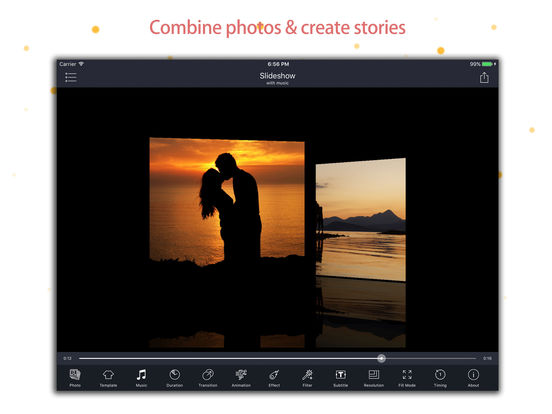 Slideshow Master : Photo slide show with music pro Screenshots