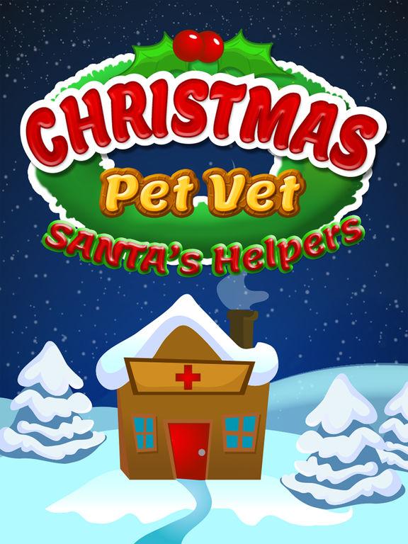 Christmas Pet Vet Doctor Santa Animal Hospital Zooscreeshot 1